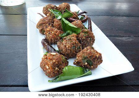 Spicy Minced Pork