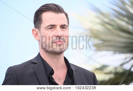 Claes Bang attends the 'The Square' photocall during the 70th annual Cannes Film Festival at Palais des Festivals on May 20, 2017 in Cannes, France.