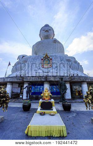 Big Buddha In Chalong, Phuket, Thailand