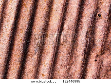 Old rusty metal as a background. Abstract Texture