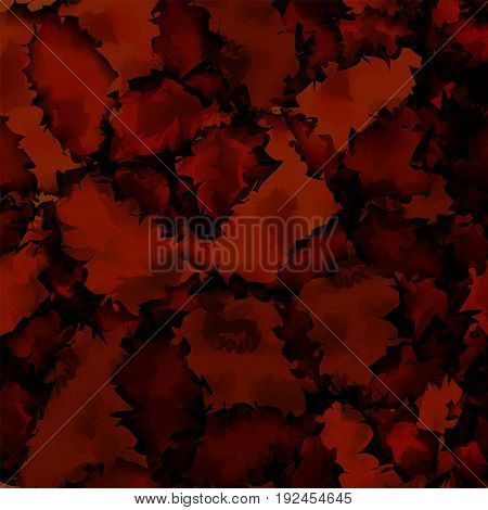 Dark Red Watercolor Texture Background. Alluring Abstract Dark Red Watercolor Texture Pattern. Expre