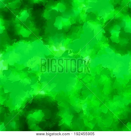 Green Watercolor Texture Background. Incredible Abstract Green Watercolor Texture Pattern. Expressiv