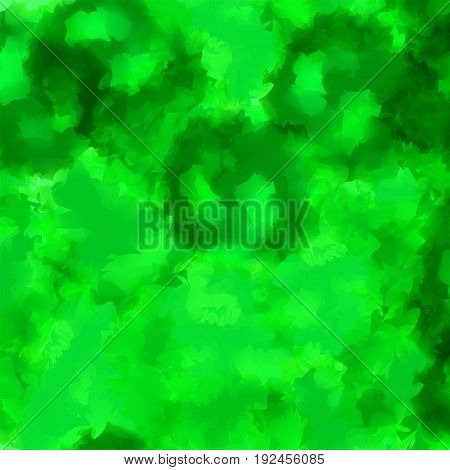 Green Watercolor Texture Background. Memorable Abstract Green Watercolor Texture Pattern. Expressive