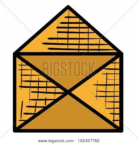 envelope mail isolated icon vector illustration design graphic