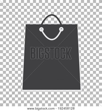 sale shopping bag icon. shopping bag sign. shopping bag icon illustration design.