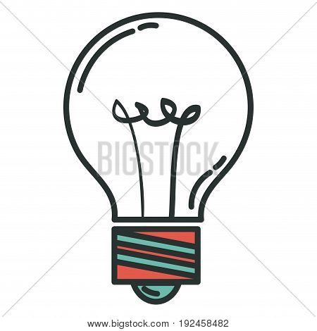 bulb light isolated icon vector illustration design graphic