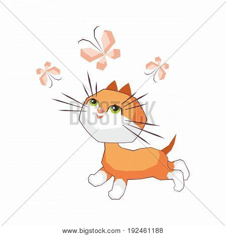 Funny Little Cat.eps