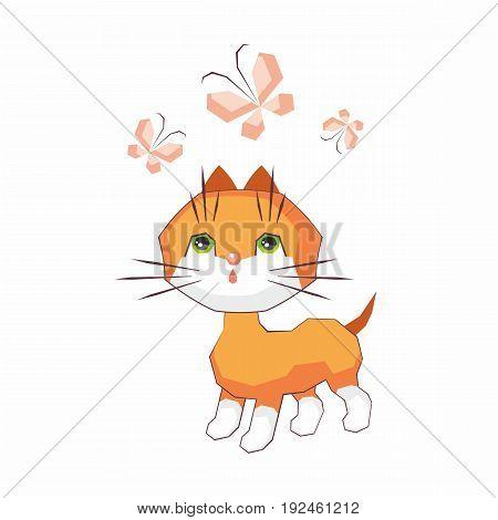 Little Funny Cat.eps