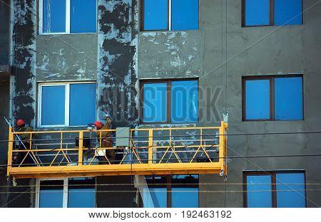 The Gondola Lift Or Scaffold