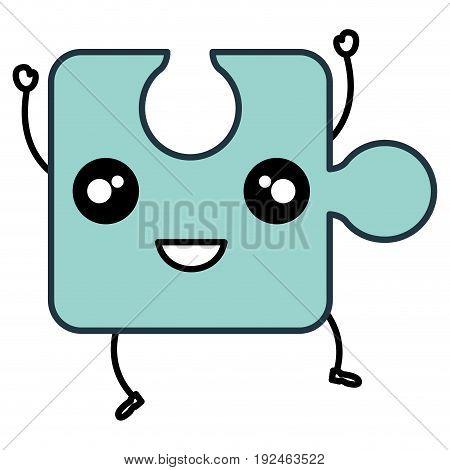 Puzzle tokens flat icon vector illiustration design flat