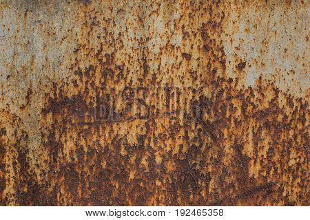 Old rusty metal. Texture of metal. Old iron background.