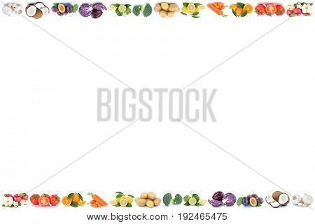 Fruits And Vegetables Apples Oranges Vegetable Food Copyspace Copy Space