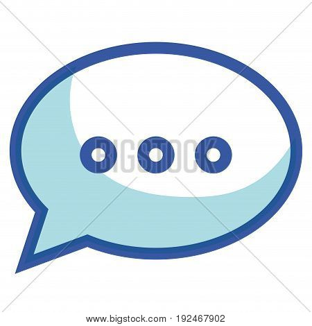 Conversation messages thought icon vector illustration design graphic