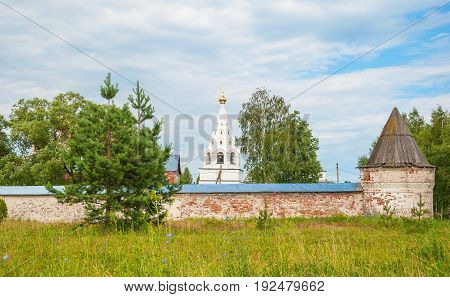 The Ancient Russian monastery-fortress in the Mozhaisk