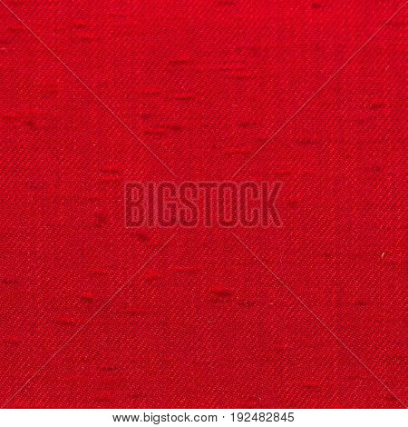 Red Canvas Fabric Texture