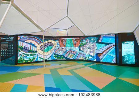 HONG KONG - CIRCA SEPTEMBER, 2016: the installation