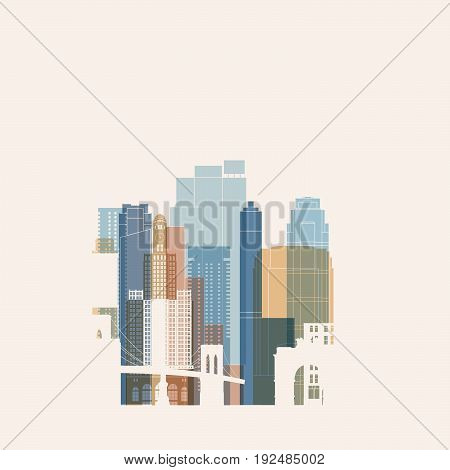 Birmingham skyline and landmarks silhouette black and white design vector illustration.