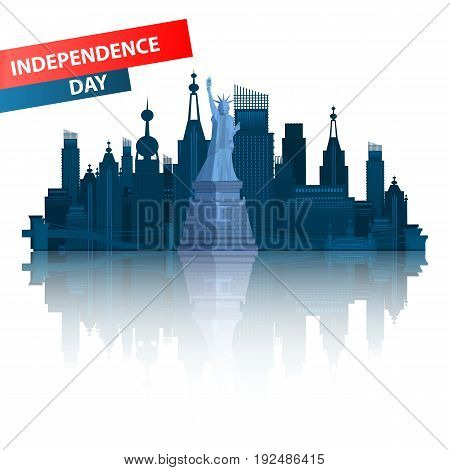 Independence Day United States. New