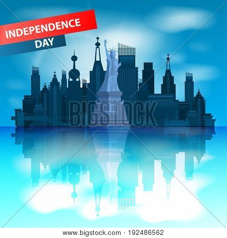 Independence Day United States. New York