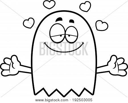 Cartoon Ghost Hug