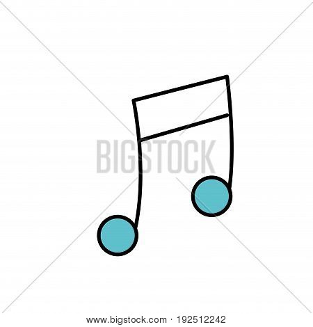 musical sign to can play a instrument vector illustration