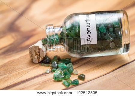 Green Aventurine In A Jar