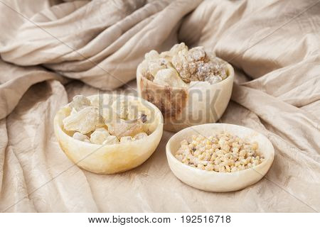Frankincense is an aromatic resin, used for religious rites, incense and perfumes. High Quality Frankincense resin from Oman