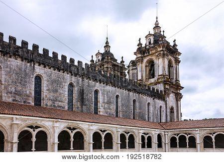 Church Alcobaca - Medieval Roman Catholic Monastery, Portugal