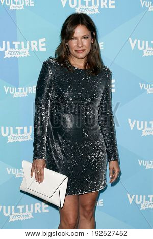 NEW YORK, NY - MAY 21: Actress Kiele Sanchez attends the 'Kingdom' panel during the 2017 Vulture Festival at Milk Studios on May 21, 2017 in New York City.