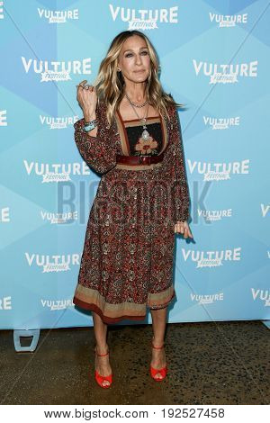 NEW YORK, NY - MAY 21: Actress Sarah Jessica Parker attends the 2017 Vulture Festival at Milk Studios on May 21, 2017 in New York City.