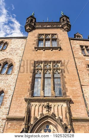 Castle In Wernigerode In Germany