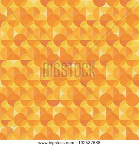 Abstract orange modern geometric shapes overlap on background