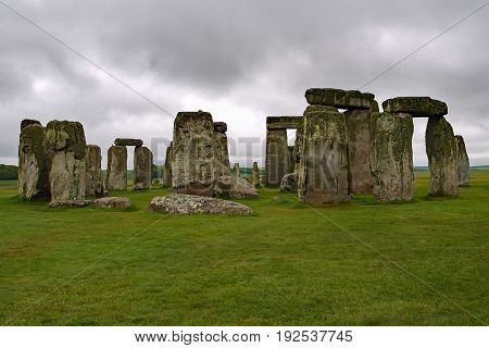 Stonehenge prehistoric rock formation in the United Kingdom