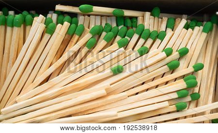 Match Sticks to light your fire when needed