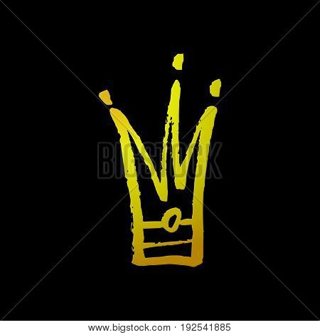 Hand Drawn Crown Icon