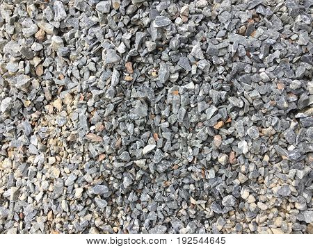 Small grey and white stone natural background texture