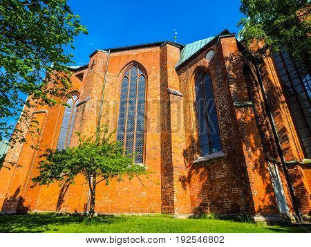 Luebecker Dom In Luebeck Hdr
