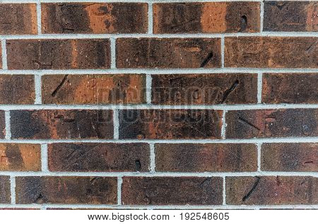 background of an old red brick wall