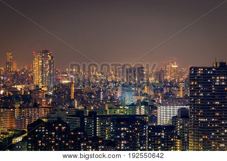 Nightlife In City, Cityscape Office Background