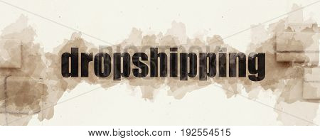 Dropshipping in Works. Direct delivery. Post services.