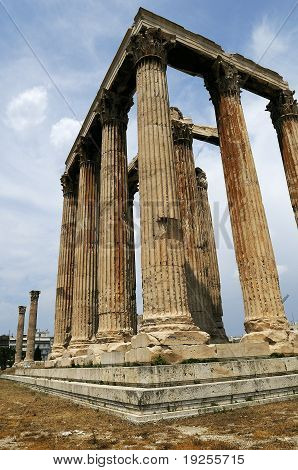 Antic monument in Greece