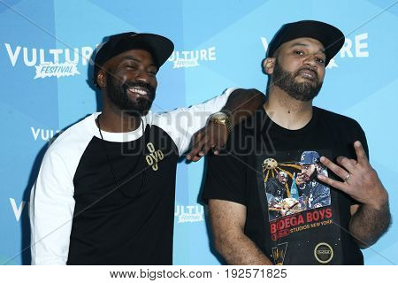 NEW YORK-MAY 20: Desus Nice (L) and The Kid Mero attend