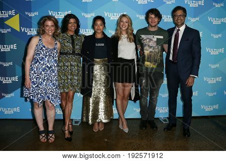 NEW YORK-MAY 21: The cast of 'Jane the Virgin' tv panel attends the 2017 Vulture Festival at Milk Studios on May 21, 2017 in New York City.
