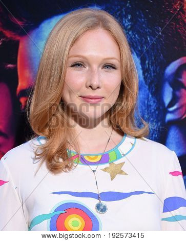 LOS ANGELES - JUN 20:  Molly Quinn arrives for the AMC Season Two 'Preacher' Premiere Screening on June 20, 2017 in Los Angeles, CA