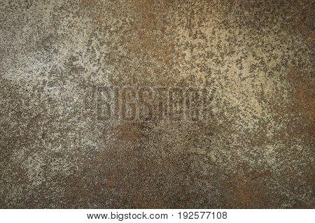 Vintage floor brown rust color use for background or wallpaper