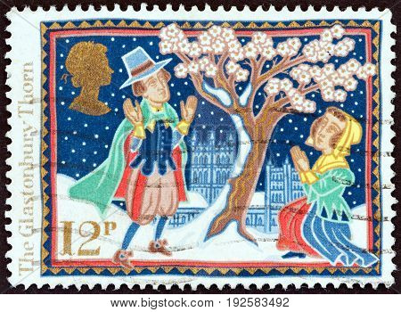 UNITED KINGDOM - CIRCA 1986: A stamp printed in United Kingdom from the