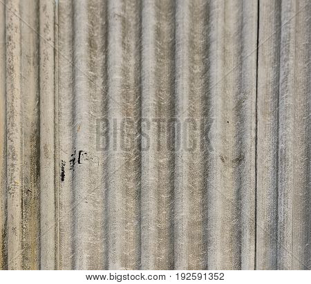 dirty grey asbestos roof house texture background.