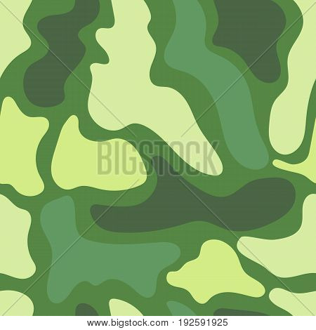 Seamless camouflage pattern, military mask texture for textile, army cloth, wrapping paper, covers