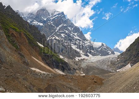 Wonderful View Of The Glacier