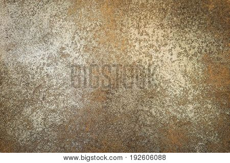 Vintage floor brown rust color use for background or wallpaper